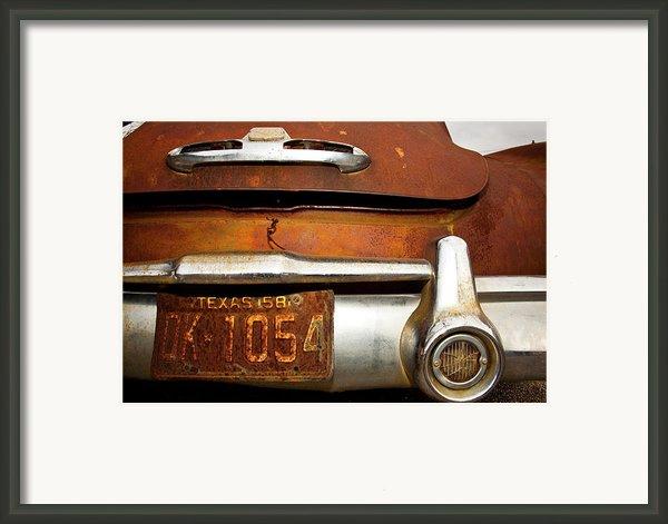 Old Buick Framed Print By Mark Weaver