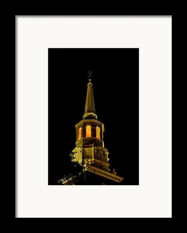 Old Christ Church Framed Print By Louis Dallara