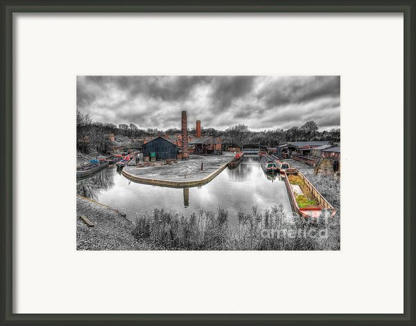 Old Dock Framed Print By Adrian Evans