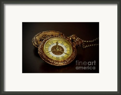 Old Grandfather Time Framed Print By Inspired Nature Photography By Shelley Myke