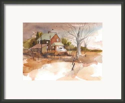 Old Home Place Framed Print By Robert Yonke