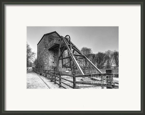 Old Mine Framed Print By Adrian Evans