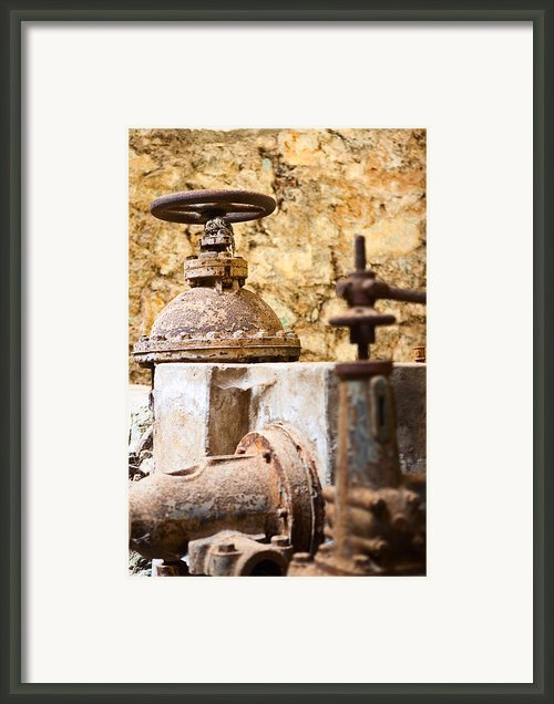 Old Mine Site Framed Print By Dirk Ercken