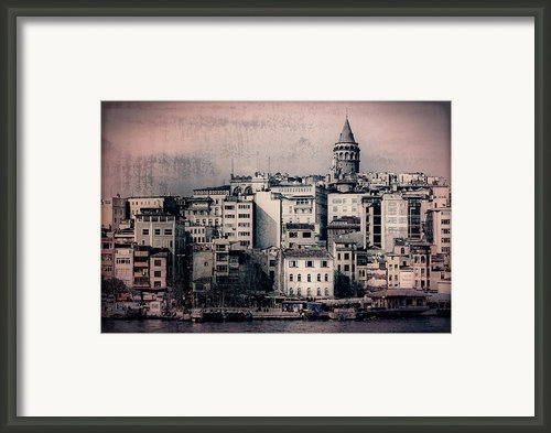 Old New District Framed Print By Joan Carroll