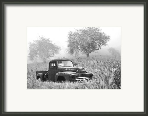 Old Pick Up Truck Framed Print By Debra And Dave Vanderlaan