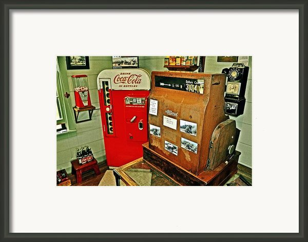Old Time Station Framed Print By Marty Koch