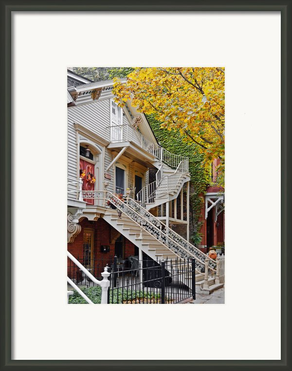 Old Town Chicago Living Framed Print By Christine Till