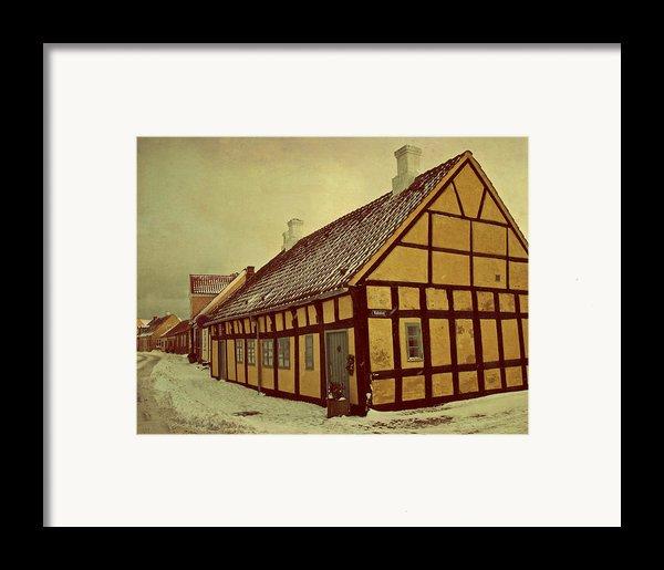 Old Town Framed Print By Odd Jeppesen