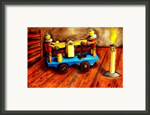 Old Toys Framed Print By Michael Alvarez