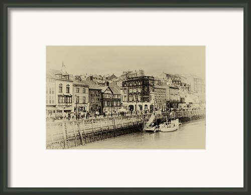 Old Whitby Framed Print By John Adams