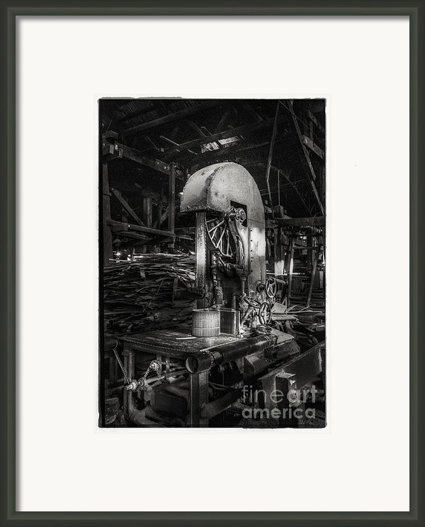 Old Wooden Sawmill Framed Print By Setsiri Silapasuwanchai