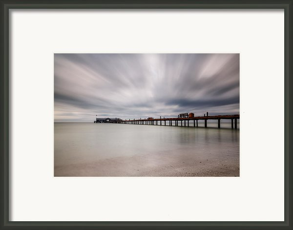 On A Stormy Day Framed Print By Claudia Domenig