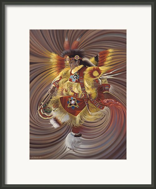 On Sacred Ground Series 4 Framed Print By Ricardo Chavez-mendez