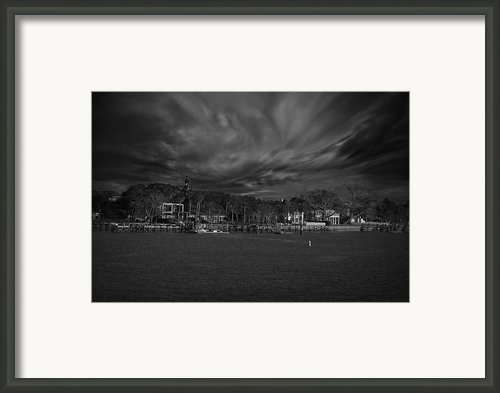 On The Other Side... Framed Print By Mario Celzner