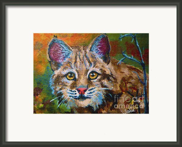 On The Prowl Framed Print By Teshia Art