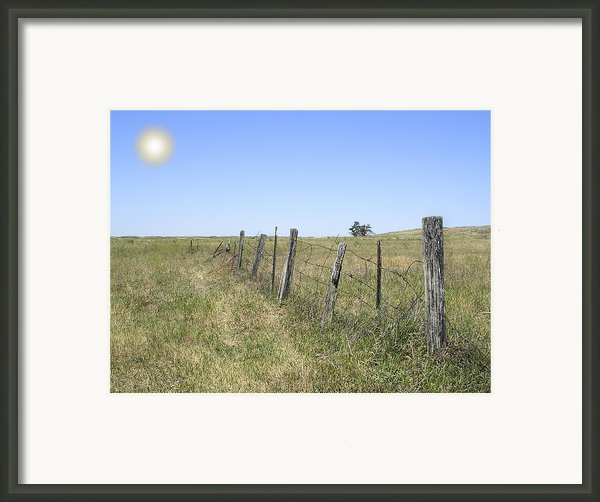 On The Range Framed Print By Daniel Hagerman