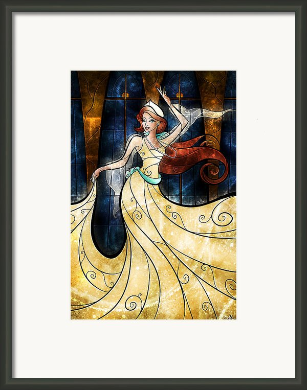 Once Upon A December Framed Print By Mandie Manzano