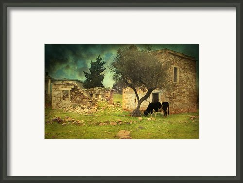 Once Upon A Time In Phokaia  Framed Print By Taylan Soyturk