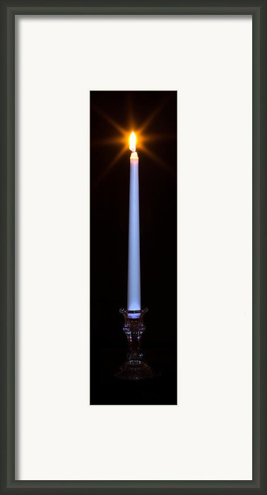 One Light Framed Print By Nicholas Evans