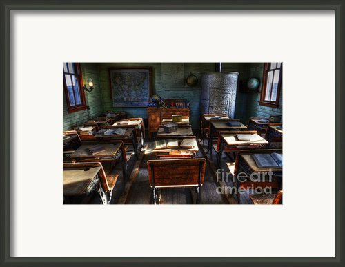 One Room School House Framed Print By Bob Christopher
