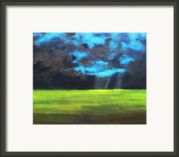 Open Field Iii Framed Print By Patricia Awapara