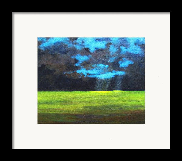 Open Field Iii Framed Print By Patricia Awapara