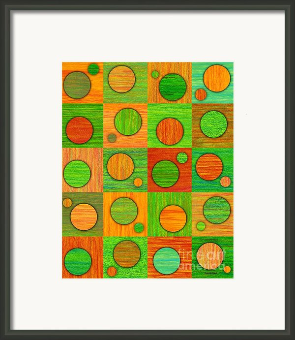 Orange Soup Framed Print By David K Small