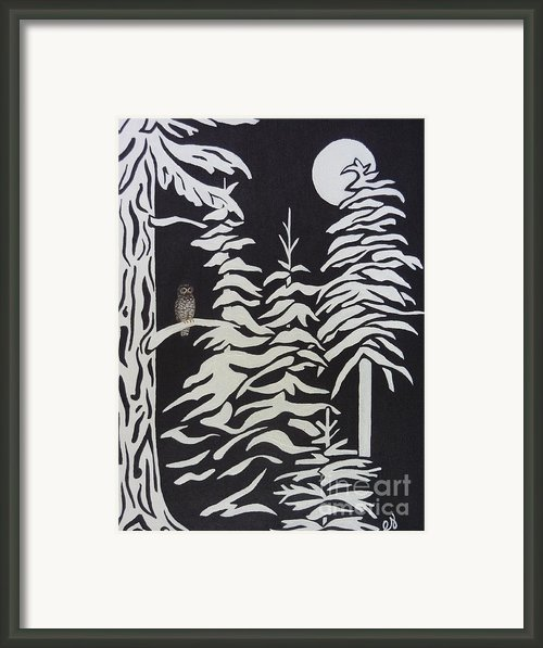 Oregon Forest Framed Print By Estephy Sabin Figueroa