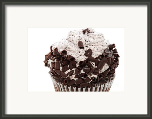Oreo Cookie Cupcake 2 Framed Print By Andee Photography
