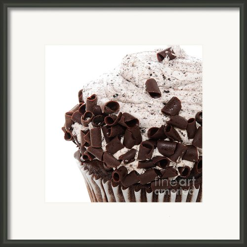 Oreo Cookie Cupcake 3 Framed Print By Andee Photography