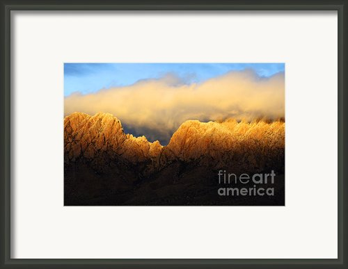 Organ Mountains Symphony Of Light Framed Print By Bob Christopher