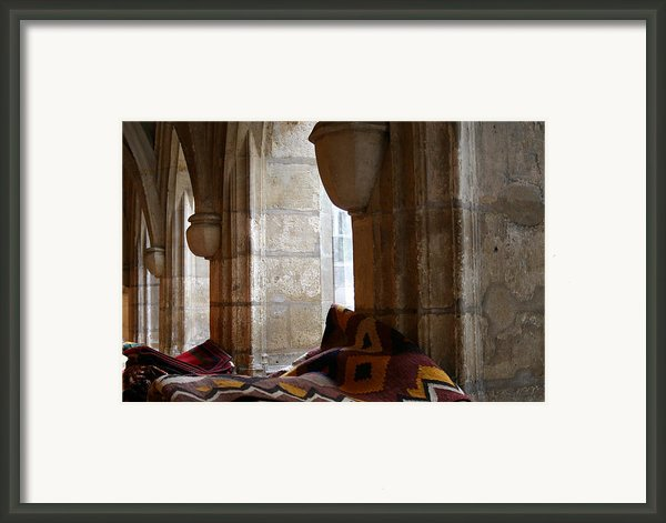 Oriental Rugs In Paris Framed Print By A Morddel