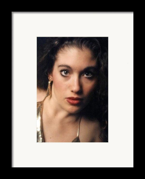Original Used For Self Portrait  Framed Print By Teri Schuster