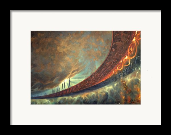 Origins Framed Print By Lucy West