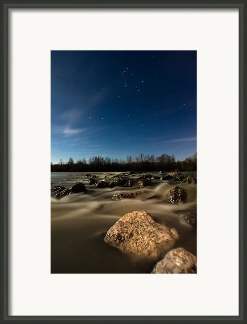 Orion Framed Print By Davorin Mance