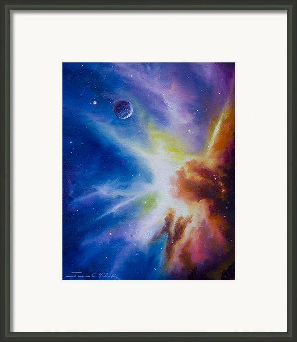 Orion Nebula Framed Print By James Christopher Hill