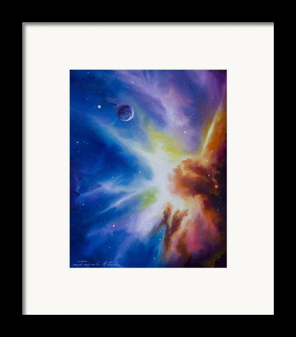 Orion Nebula Framed Print By James Christopher Hill