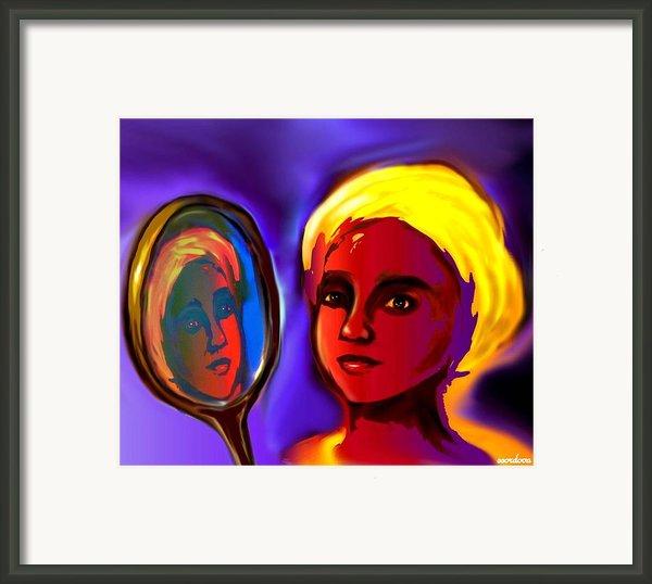 Oshun -goddess Of Love Framed Print By Carmen Cordova