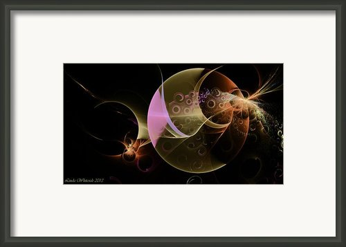 Other Worlds Framed Print By Linda Whiteside