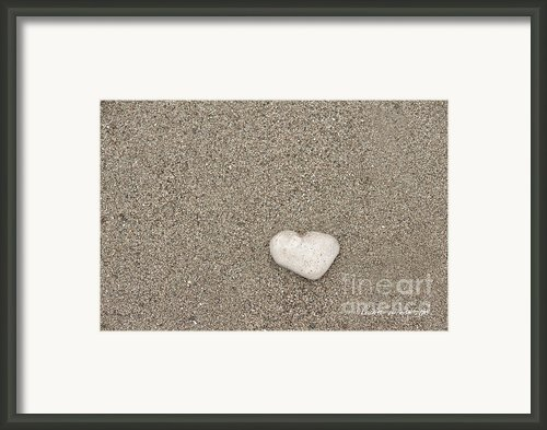 Our Beach Memories Framed Print By Author And Photographer Laura Wrede