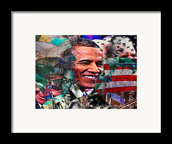 Our Journey Is Not Complete Framed Print By Lynda Payton