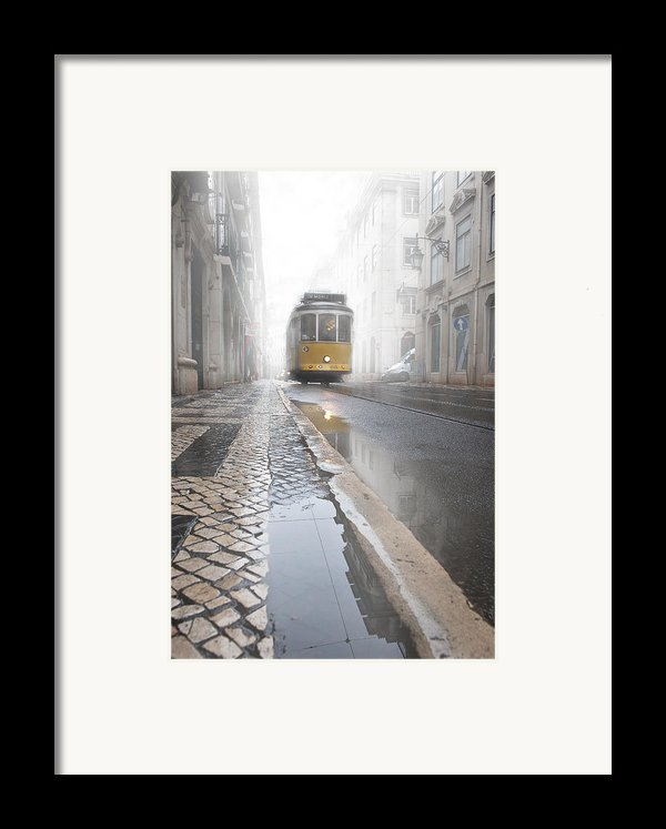 Out Of The Haze Framed Print By Jorge Maia