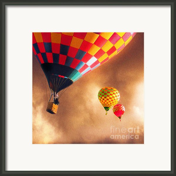 Out Of The Storm Framed Print By Artist And Photographer Laura Wrede