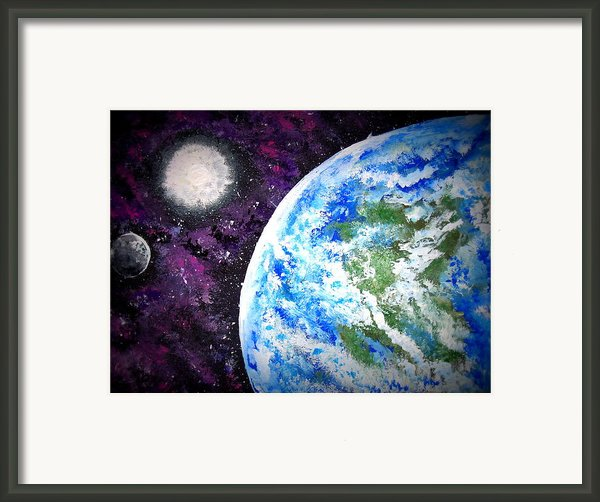 Out Of This World Framed Print By Daniel Nadeau