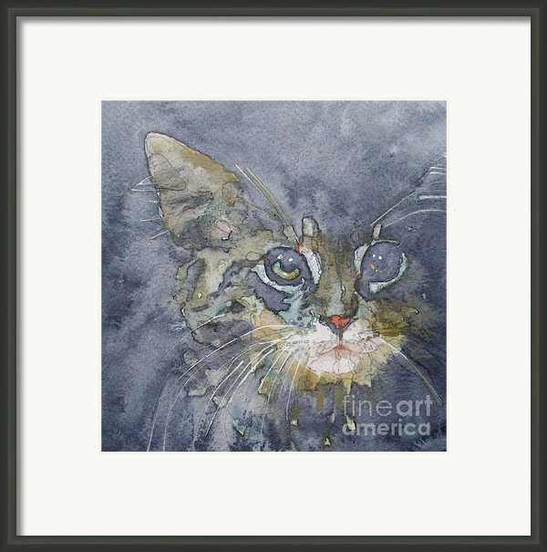 Out The Blue You Came To Me Framed Print By Paul Lovering