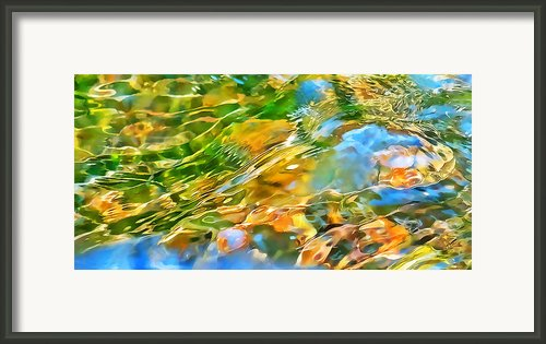Over The Rocks Framed Print By Terril Heilman