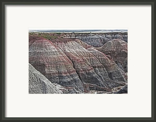 Over Time Framed Print By Tn Fairey