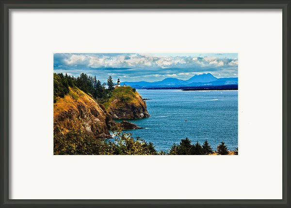 Overlooking Framed Print By Robert Bales