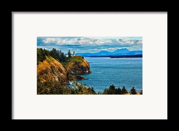 Overlooking Framed Print By Robert Bales