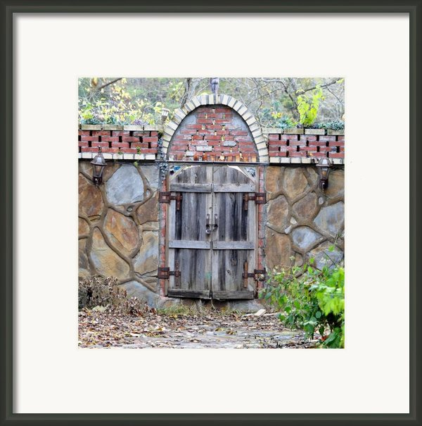 Ozark Gate Framed Print By Jan Amiss Photography